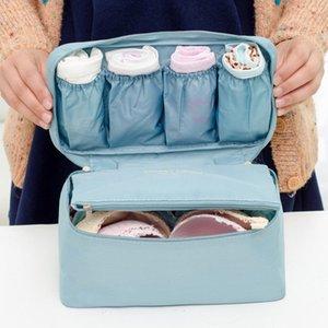 نساء حقائب التجميل الصدرية داخلية الجوارب التعبئة مكعب تخزين حقيبة سفر الأمتعة المنظم حالات الصلبة عارضة جديد بيع الساخن