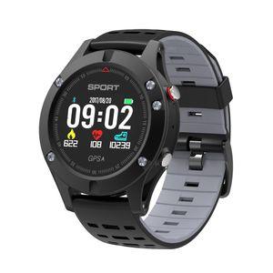 Android Ios Xiaomi iphone pk garmin F1 için Akıllı İzle GPS Erkekler Altimetre Barometre Termometre Su geçirmez Spor Smartwatch