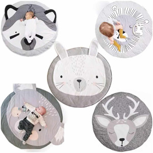 15 Styles Bébé Tapis Rampants Fox Cerf Lion Licorne Lion Swan Animaux Jouer Jeu Tapis Décoratif Ramper Couverture Enfants Chambre Tapis De Sol DBC DH0749