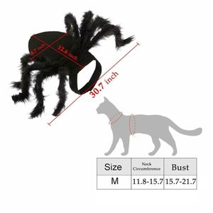 Halloween Spider Pet Costume Cool Cosplay Clothes for Cat Dog Puppy Funny Party-Medium Dog Apparel