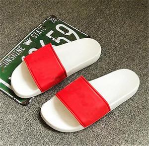 Дизайнерские Тапочки Новые Буквы Desinger Слайды Мужские Вьетнамки Летние Противоскользящие Пляжные Плоские Тапочки Обувь 4 Цвета Опционально