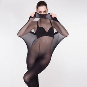 Medias 2017 de la piel de señora Women Sexy Negro Grueso encaje más el tamaño de la cintura delgada altas medias hasta el muslo largo de rodilla