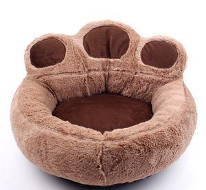 2020 도매 곰 발 개집 고양이 쓰레기 사계절 유니버설 플러스 매트 애완 동물 둥지 작은 개 테디 애완 동물 매트