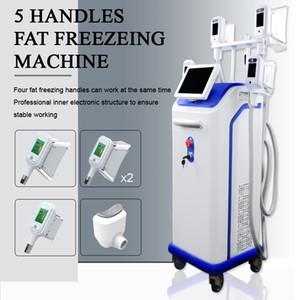 Hızlı 5 cryo kolları herhangi 4 donma kolları birlikte çalışabilir yağ donma zayıflama makinesi nakliye