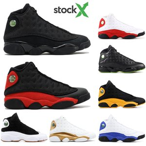 With free Socks 2020 Bred Chicago Flint Men Women Basketball Shoes 13s He Got Game BLACK CAT ALTITUDE Top Quality Sneakers size 40-47
