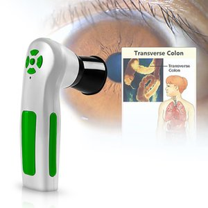 2019 وصول جديد! المهنية الرقمية iriscope علم القزحية اختبار كاميرا والعين آلة 12.0MP قزحية محلل الماسح الضوئي CE / دي إتش إل الشحن المجاني