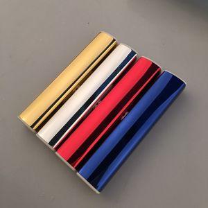 Kreative Eis Mini-USB-Feuerzeug Persönlichkeit männliche und weibliche stille elektronische Zigarette Lade leichter kann Laserbeschriftung angepasst werden