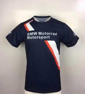 BMW Kurzarm-T-Shirt Sommer neues T-Shirt BMW Motorradbekleidung Kurzarm schnelltrockn lässig Tops Offroad-Radsportbekleidung Renn