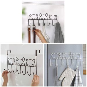 Hot Metal Hook No Drill Space Saving Clothes Rack Organizer for Home Bathroom XJS789