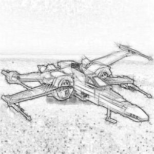 Stokta 05145 740pcs 05029 Yıldız Serisi X kanat avcı Uyumlu 75149 ÇOCUKLAR Yapı Taşları DIY Eğitici Oyuncaklar Çocuk Hediyeler monte