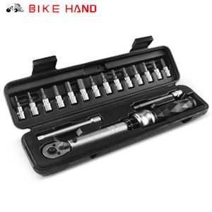 Bicicleta de MTB Mano 1-25 NM llave de torque Llave de reparación de bicicletas Kit de llaves hexagonales Juego de herramientas multi-función de la vía Llave Allen moto Herramientas Bit