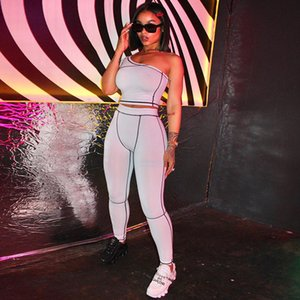 Womens designer outfits two piece set tracksuit jogging sports suits strap vest legging sportswears trousers sport suit hot