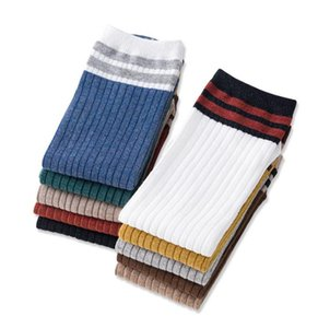 Women's Soft Warm Knit Cotton Crew Stripes Socks fashion Colorful Casual Fall Winter Cold Weather Socks hosiery new year christmas gifts