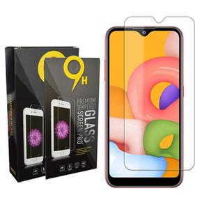 Schermo 9H 2.5D chiaro vetro temperato del telefono mobile della pellicola della protezione per Samsung Galaxy A01 A21s A11 A31 A90 A51 A71 5G S7