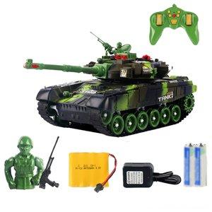 44см Rc войны Радио Танк Tactical Vehicle Главная Запчасти Аксессуары Электрический пульт дистанционного управления Battle Military Основной боевой танк Модель Sound Recoil
