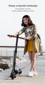 portatile scooter pieghevole può mettere la batteria zaino scooter elettrico staccabile con bluetooth speaker USB di ricarica multi-funzione di motorino