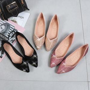 Hot Sale-Pointed Wildleder einzigen Schuh