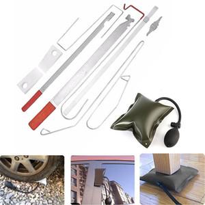 1set Universal Araç Kapı Anahtarı Kayıp Kilidi Çıkışı Acil Açık kilidini Aracı Kiti + Hava Pompası T200322