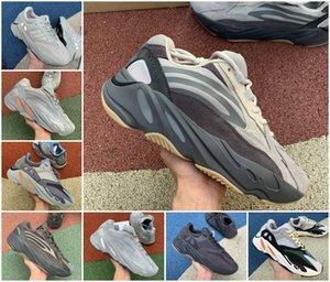 High Quality 700 Kanye West Running Shoes Vanta 700 V3 Alvah Azael 3M Reflective V2 Mist Alien Mens Women Trainer Sneakers