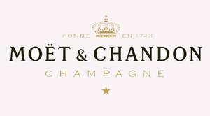 Ev Dekoratif Asma 150cm * 90cm Moet Chandon Champagne Bayrak Banner 3 * 5FT Polyester Özel