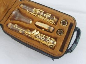clarinete de alto grado, Bb Clarinets de viento de madera clarinete transparente, la clave de dorado clarinete de alto grado, Bb la Clarinets de viento de madera c transparente