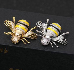 Fashion-Даймонд пчелы брошь брошь женский корейской версии 2019 новая мода милый дикий контактный элегантный темперамент груди