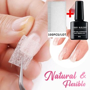 Long Lasting Up to 30 days with proper nail care Nail Care Fiberglass Silk Nails Wrap Stickers Gel Extension Art Tools #ZC