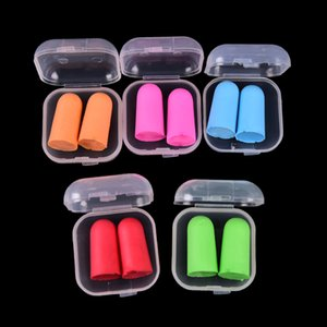 Earplugs Sleeping Plugs For Travel 2PCS Anti-noise Soft Ear Plugs Sound Insulation Ear Protection Noise Reduction DLH408