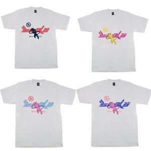4 Arten der Männer T Shirts High Street FLA Joy x Pian Sicko Frauen-T-Shirt Ian Connor Retro kurze Hülsen-lose beiläufige Kleidung