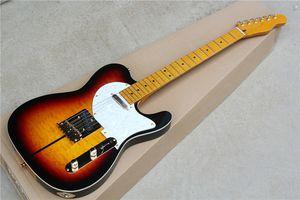 Guitarra eléctrica Factory Hotsale con Merle Haggard Signature Tuff Dog-SUPER RARE, chapa / mástil de arce flameado, que ofrece personalización.