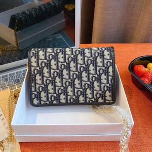 Muy Alta Nueva calienteDiorBolsa de hombro bolsos del diseñador de moda bolsa de cuero Bolsas Crossbody bolso de embrague mochila DOAD cartera