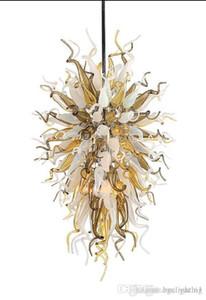 100% ручная выдувная стеклянная люстра со светодиодным источником света Home Decor Modern Art Deco индивидуальная итальянская стеклянная люстра для продажи