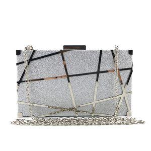 2020 Fashion Sequin women clutch bag women envelope bag clutch evening female Chain Soulder Messenger Crossbody Bags handbag#H25