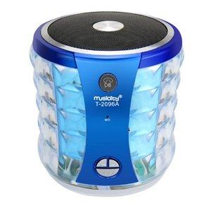 공장 직접 무선 블루투스 다채로운 조명 스피커 지원 U 디스크 TF 카드 3D 스테레오 서라운드 사운드