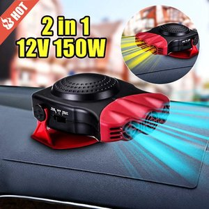 12V 150W protable Chauffage automatique de voiture Chauffage Ventilateur Fenêtre Pare-brise anti-buée DÉGIVREUR conduite anti-buée Dégivreur