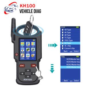 Lonsdor KH100 Auto chiave programmatore portatile a distanza dell'automobile programmatore chiave intelligente Genera / Simulazione / Identificare Copia / frequenza a distanza