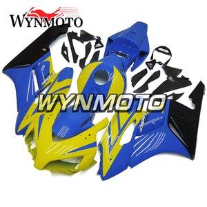 Kit completo per motocicli e stampaggio a iniezione per motocicli blu e giallo per Honda CBR1000RR 2004 2005 04 05 Pannelli copri bici per motocicli
