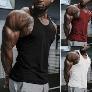 2019 Hot Mens sans manches Tank Vêtements Stringer Bodybuilding Débardeur Muscle Gilet Chemise Taille S-XL