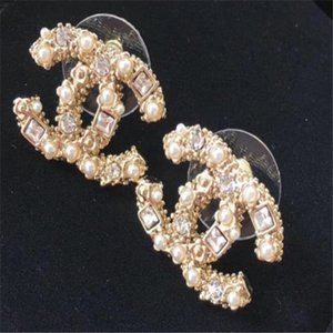 lujo pendientes diseñador de moda fina amor marca de joyería de corazón aretes mujeres del pendiente del encanto del perno prisionero joyería para la mujer.