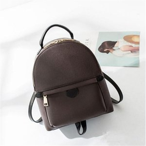 2019 Designer backpack for women leather fashion back pack shoulder bag handbag presbyopic palm spring mini backpack messenger bag phone pur