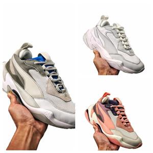 2019 Alta Qualidade Trovão Spectra Sneakerness branco velho papai Sapatos Respirável Das Mulheres Dos Homens Tênis Casuais Tênis Tamanho 36-45