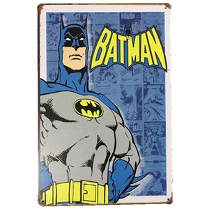 Marvel Film Super Heroes Retro Plate Metal building Vintage Craft Tin Sign Retro Metal Painting Poster Bar pub Pub Wall Art