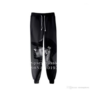 hussle Jogger Pants Spring Teenager School Sports Casual R.I.P Pencil Pants Printed Designer Mens 3D nipsey