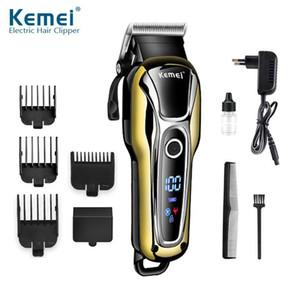 110-240 Tondeuse électrique Tondeuse hommes rasoir barbe raser machine de coupe de cheveux maquina cortar cabelo LCD33