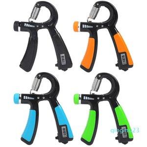 Wholesale-R-type Adjustable Spring Smart Counter Finger Gripper Holding Exerciser