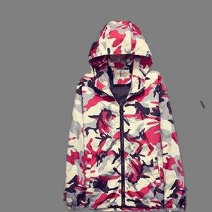 2017 Camouflage Veste Printemps et Automnes Les paragraphes mince manteau court Cultivez Moralité de même un couple de Cap Tendance