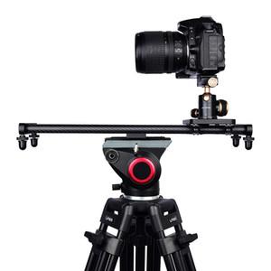 Réglable appareil photo reflex numérique en fibre de carbone Curseur Dolly Piste vidéo Stabilisateur rail