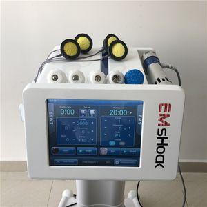 EMS ударно-волновой терапии для физиотерапии \ электромагнитная стимуляция мышц ЭУВТ shcok волновая терапия машина для целлюлита