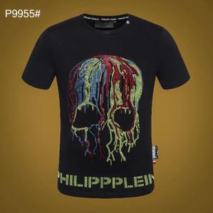 La nuova t-shirt da uomo estate 2019, maglietta a maniche corte da uomo di alta moda da uomo. T-shirt uomo manica corta con stampa lettera 6503