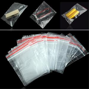 Mini zip lock sacos plásticos de embalagem sacos pequenos bolsa com zíper ziplock embalagem Armazenamento sacos de plástico 9 tamanhos